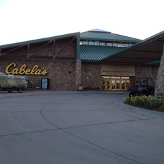 Photo taken at Cabela's by Chad C. on 9/5/2012