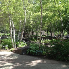 Photo taken at Mears Park by Kelsey W. on 5/14/2012