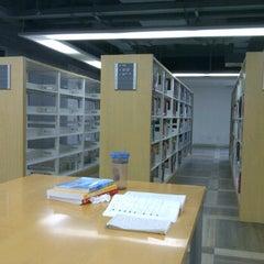Photo taken at 同济大学嘉定校区图书馆 by DouFu C. on 10/13/2011