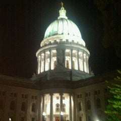 Photo taken at Capitol Square by Steven K. on 10/2/2011