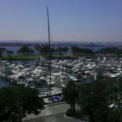 Photo taken at San Diego Marriott Convention Center Skywalk by Le Q. on 9/23/2011