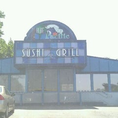 Photo taken at Blue Pacific Sushi & Grill by Andrea B. on 8/17/2011