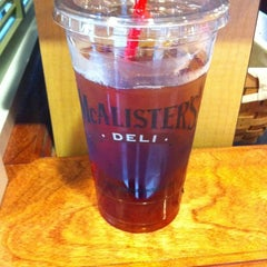 Photo taken at McAlister's Deli by Tyler M. on 9/17/2011