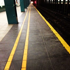 Photo taken at MTA Subway - Bergen St (F/G) by Cris H. on 1/28/2012