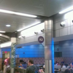 Photo taken at Gate A2 by Todd A. on 7/27/2011