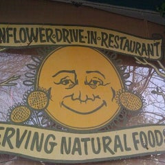 Photo taken at Sunflower Natural Foods Drive-In by Stephanie B. on 1/17/2012