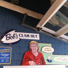 Photo taken at Bob's Clam Hut by Kyle H. on 7/18/2011