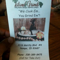 Photo taken at Island Kine Grinds by Christine C. on 6/22/2012