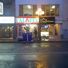 Photo taken at Falafel House by Pat F. on 4/4/2011