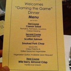 Photo taken at Seasons Restaurant by Julian B. on 4/13/2012