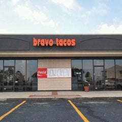 Photo taken at Bravo Tacos by Zach R. on 8/22/2011