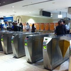 Photo taken at Melbourne Central Station by Alexander D. on 6/16/2012