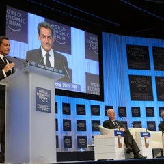 Photo taken at World Economic Forum 2012 (Davos Congress Center, WEF) by Elysee on 12/14/2011