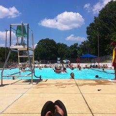 Photo taken at Upshur Swimming Pool by Dana W. on 7/9/2011