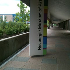 Photo taken at Neuberger Museum of Art by Jen A. on 6/2/2012