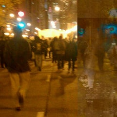 Photo taken at #OccupyChicago by Sabrina J. on 11/18/2011