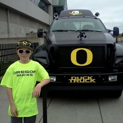 Photo taken at Autzen Stadium by Jennifer C. on 10/29/2011