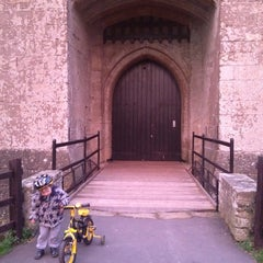 Photo taken at Caldicot Castle by Michelle D. on 1/20/2012