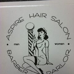 Photo taken at Aspire Hair Salon by Deborah S. on 10/15/2011