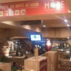 Photo taken at MORE The Buffet at Luxor by Jason J. on 1/10/2012
