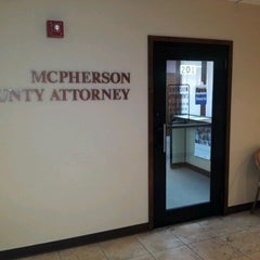 Photo taken at McPherson County Attorney by Gary F. on 7/6/2012