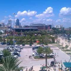 Photo taken at EverBank Field by Peter C. on 9/11/2011