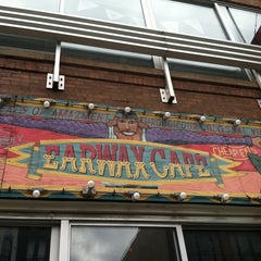 Photo taken at Earwax Cafe by Lisa W. on 7/16/2011