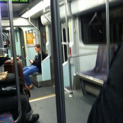 Photo taken at MBTA Green Line - B Train by Jacob F. on 11/8/2011