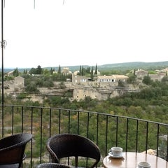 Photo taken at Cercle Républicain de Gordes by Julio R. on 8/28/2012