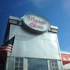 Photo taken at Mary's Diner by Scott on 7/21/2012