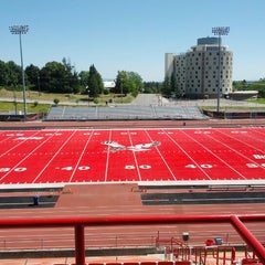 Photo taken at Roos Field by Ron N. on 7/31/2012