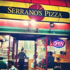 Photo taken at Serrano's Pizza by Josef D. on 6/24/2012