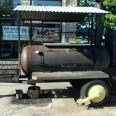 Photo taken at Fat Jack's Bar-B-Que by Dan M. on 5/18/2012