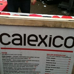 Photo taken at Calexico Cart by Shomi P. on 5/9/2012