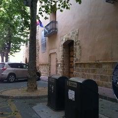 Photo taken at Palacio Condes de Cervellón by Alexis G. on 7/14/2012