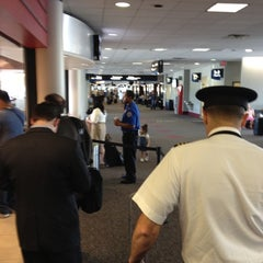 Photo taken at Concourse A by John R. on 5/2/2012