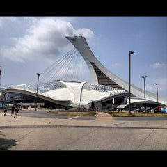 Photo taken at Stade Olympique by Jose R. on 7/18/2012