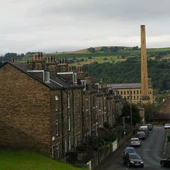 Photo taken at Salts Mill by Jamie S. on 8/1/2012