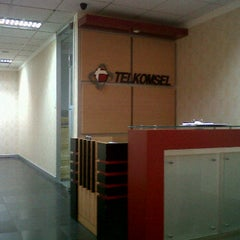 Photo taken at Telkomsel HQ, Wismul 9th fl. by Sarah J. on 2/20/2012