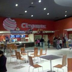 Photo taken at Cinemex Atlacomulco by Luis Enrique V. on 5/6/2012