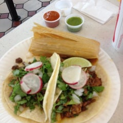 Photo taken at Rancho Bravo Tacos by Mason C. on 6/30/2012