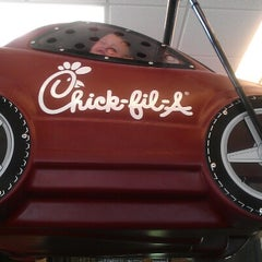 Photo taken at Chick-fil-A by Pam B. on 8/26/2012