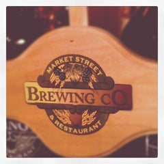 Photo taken at Market Street Brewing Company by Tom L. on 8/22/2012