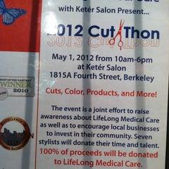 Photo taken at Keter Salon by Kiki K. on 5/1/2012