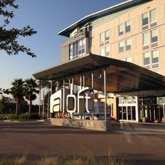 Photo taken at Aloft Jacksonville Airport by Karen on 8/25/2012