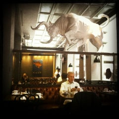 Photo taken at The Bailey Pub & Brasserie by Forrest F. on 5/7/2012
