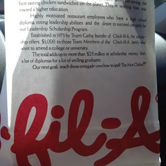 Photo taken at Chick-fil-A by Tricia G. on 8/16/2012