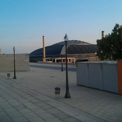 Photo taken at Palau Sant Jordi by Manel M. on 5/30/2012