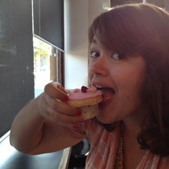Photo taken at Cupcake Royale and Verite Coffee by Jeremiah V. on 8/5/2012