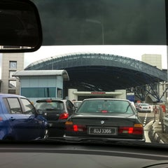 Photo taken at Tuas Checkpoint (Second Link) by Eugene H. on 8/31/2011